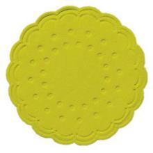 Tassentropfdeckchen Ø7,5 cm 8-lagig kiwi Produktbild