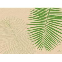 Papier-Tischsets 30 x 40 cm gras Produktbild