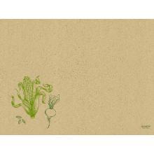 Graspapier-Tischsets 30 x 40 cm veggies Produktbild