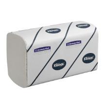 Handtücher KLEENEX® 21,5 cm x 31,5 cm 3-lagig weiß Produktbild