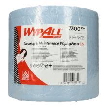 Wypall L20 Extra plus 23,5 cm x 38 cm 2-lagig Groß-Rolle 500 Blatt blau Produktbild