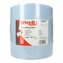 Wypall L10 Extra plus 32,5 cm x 38,5 cm 1-lagig Groß-Rolle 1000 Blatt blau Produktbild