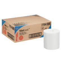 Wypall Wettask DS Wischtücher - Rolle / Weiß 15 cm x 22,9 cm Produktbild