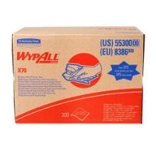 Wypall X70 Wischtücher 1-lagig 31,7 cm x 42,6 cm weiß Box a 200 Blatt Produktbild