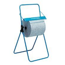 Bodenständer für Grossrollen Metall blau 6154 Produktbild