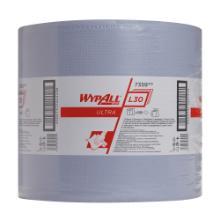 WYPALL L30 ULTRA Wischtücher - Großrolle Blau Produktbild