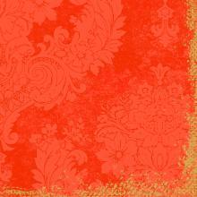 Serviette Klassik 40 cm x 40 cm 4-lagig 1/4 Falz Royal Mandarin Produktbild