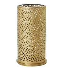 Kerzenhalter aus Metall für LED 140 mm x 75 mm Bliss gold Produktbild