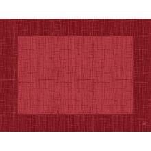 Tischset Dunicel 30 cm x 40 cm Linnea bordeaux Produktbild