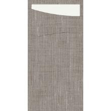 Serviettentasche Sacchetto 23 cm x 11,5 cm granit Produktbild