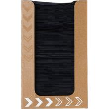 Servietten-Spenderbox Dunisoft 20 cm x 20 cm schwarz Produktbild