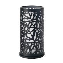 Kerzenhalter Metall 14 cm x 7,5 cm Twist black Produktbild
