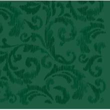 Serviette 40 cm x 40 cm Saphira jägergrün Produktbild