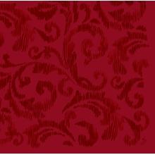 Serviette Dunilin 40 cm x 40 cm Saphira bordeaux Produktbild