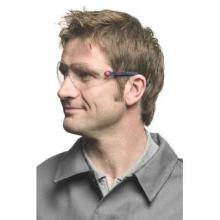 3M Schutzbrille 2700 Bügelbrille Linse klar Gestell blau Produktbild