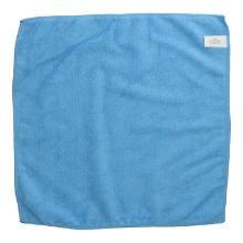 Microfasertuch gestrickt 40 cm x 40 cm blau Produktbild