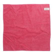 Microfasertuch gestrickt 40 cm x 40 cm rot Produktbild