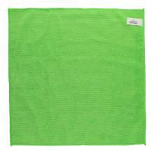 Microfasertuch gestrickt 40 cm x 40 cm grün Produktbild