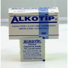Alkoholtupfer ALKOTIP 30x65mm UN0000 Produktbild