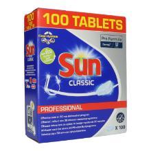 Sun Professional Classic Tabs 100 Stück - Geschirrreiniger UN0000 Produktbild