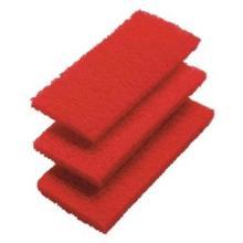 Scheuervlies-Pads mittel 260x120mm 3er Set rot Produktbild