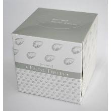 Kosmetiktücher in Würfelbox 11x11x11 cm2-lagig, 100 Stück per Box Produktbild