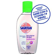 Sagrotan Hand-Desinfektionsgel Kamille & Lotus 50ml UN1170LQ-3 Produktbild