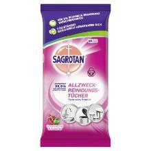 Sagrotan Allzweck-Reinigungstücher Granatapfel-Limette Produktbild