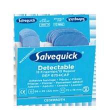 Salvequick Fingerpflaster blau nachweis Produktbild