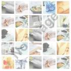 Serviette Zelltuch 24 cm x 24 cm 2-lagig kiwi Produktbild