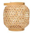 Kerzenhalter Bambus 26 cm x 24 cm Area Produktbild