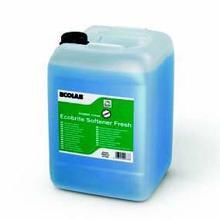 Tøjvask Ecobrite Softener Fresh skyllemiddel med farve og parfume 20 ltr blå product photo