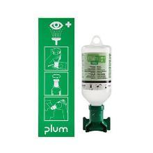 Øjenskyllestation PLUM med 1 flaske 500 ml øjenskyller product photo