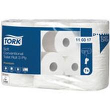 Toiletpapir Tork T4 premium Extra soft 3 lag. 34.7 meter. 248 ark product photo