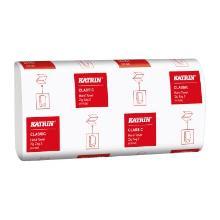 Håndklædeark Katrin Classic 2 lag Zig Zag V-fold 23.2x23x11.5cm product photo