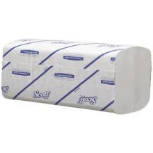 Håndklædeark Scott perform 1 lag hvid 21.5x31.5x10.5cm. product photo