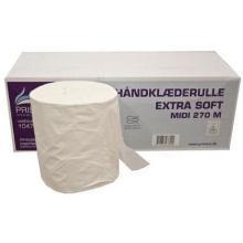 Håndklæderulle Pristine Extra soft 1 lag nyfiber 270 meter uden hylse product photo