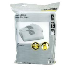 Støvpose 12-1 fleece til Kärcher 10 stk product photo