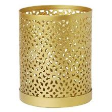 Lysestage Bliss 80x100 mm metal Guld product photo
