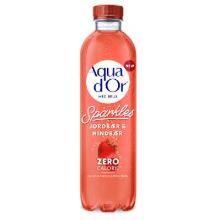 Mineralvand Aqua d'or Jordbær/Hindbær med brus 0.50 liter product photo