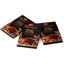 Chokolade Premium Dark 70% 10 gr 120 stk product photo