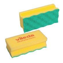 Svamp rengøring Puractiv gul ridsefri product photo