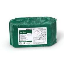 Maskinopvask Afspænding Fast Apex Rinse Koncentrat til Blødt vand 1.1 kg Grøn product photo