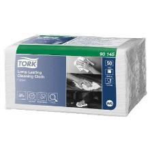 Aftørringsklud Tork W8 Alt-i-En 1-lag 385x300 mm Premium Hvid product photo