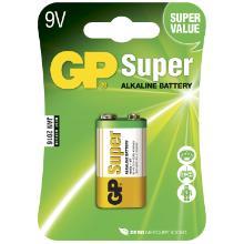 Batteri GP Super 9V 1 stk/pk product photo
