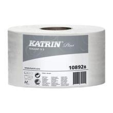 Toiletpapir Katrin plus 2 lag hvid 160 meter. 1280 ark. Ø 18 cm. product photo