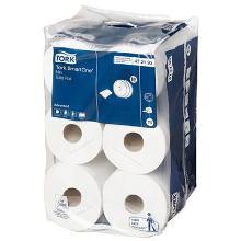 Toiletpapir Tork SmartOne T9 mini 2 lag hvid 111.6 m. 630 ark product photo