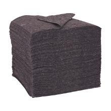 Molty D: Chiffons gris non-tissés de fibres récupérées - 40x38cm - 10kg photo du produit