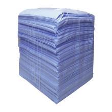 Lavettes non-tissées en viscose bleues - 35x40cm (10kg) photo du produit