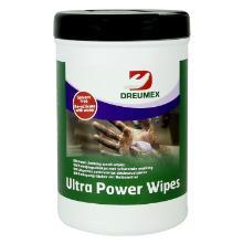 Ultra power : wipes lingette gommante imprégnée - 90 pc photo du produit